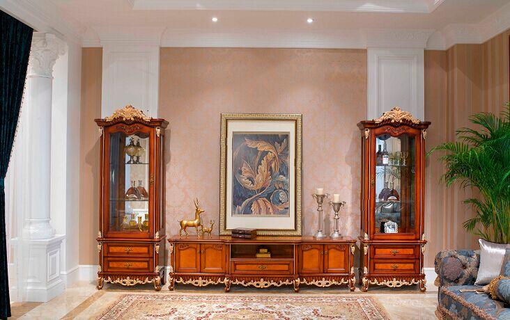 万兴欧式家具宫系列6602厅柜