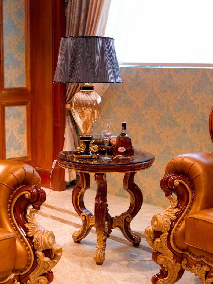 万兴欧式家具宫系列6602圆角几